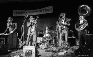 THE HAPPY GANGSTAS_ on Stage _2018_